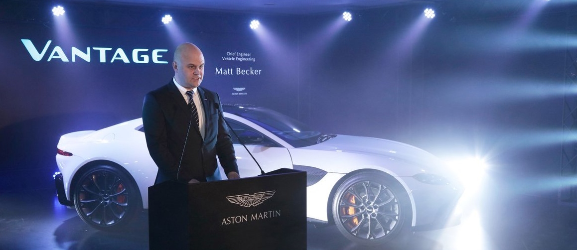 Chief Engineer at Aston Martin talks to Monster